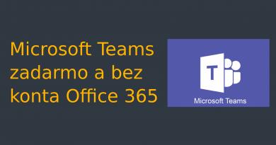 Ako sa zaregistrovať na MS Teams zadarmo a bez konta Office 365